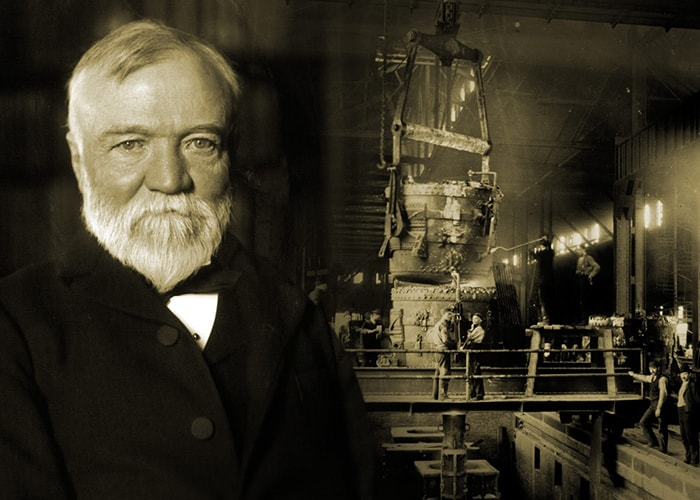 vua thép Andrew Carnegie