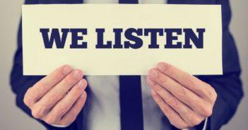 Lắng nghe, phân tích, tiếp nhận ý kiến khách hàng