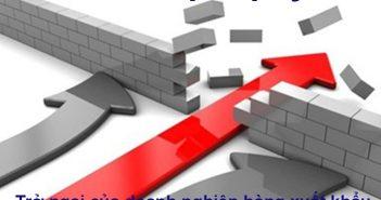 Rào cản pháp lý – trở ngại của hàng xuất khẩu