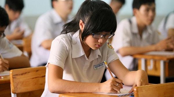 Học sinh cần chú ý phân chia thời gian làm các câu trong đề thi