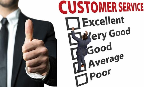 Dịch vụ hậu mãi và chăm sóc khách hàng kém