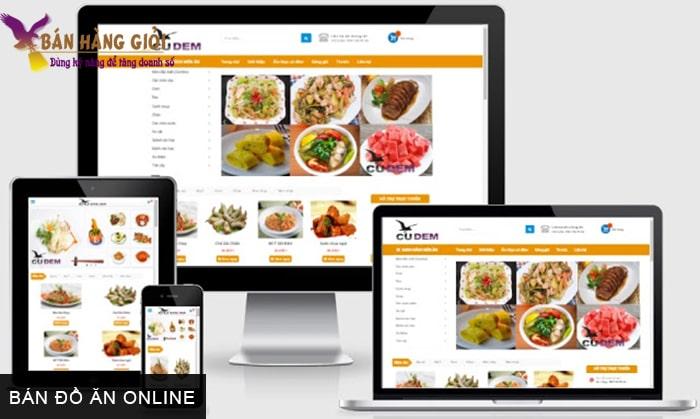 Bán đồ ăn online
