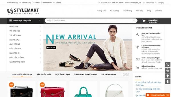 Thiết kế website với nội dung phong phú, hình thức bắt mắt
