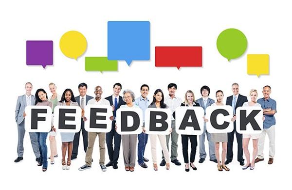 Quan tâm đến phản hồi (feedback) của khách hàng