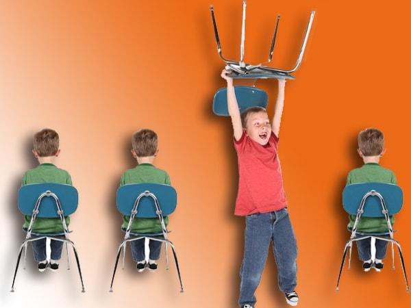 Biểu hiện của bệnh tăng đông giảm chú ý ở trẻ em