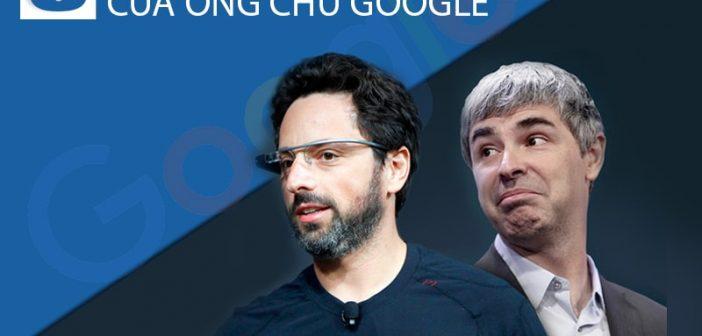 5 bí quyết thành công của ông chủ Google: Sergey Brin và Larry Page