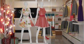 5 cách trang trí shop quần áo diện tích nhỏ đẹp và lịch lãm