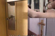 Cách sửa khóa cửa tay gạt đơn giản và hiệu quả