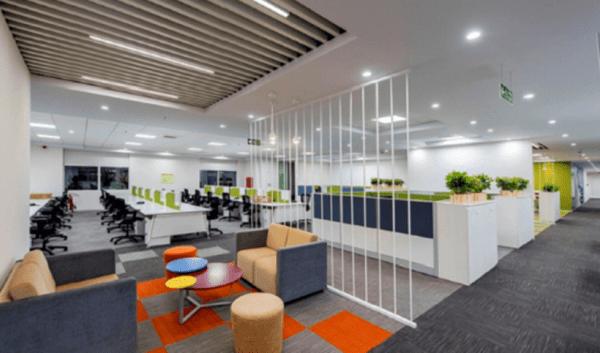 Văn phòng làm việc đẹp tiện nghi tạo điều kiện làm việc tốt nhất cho nhân viên