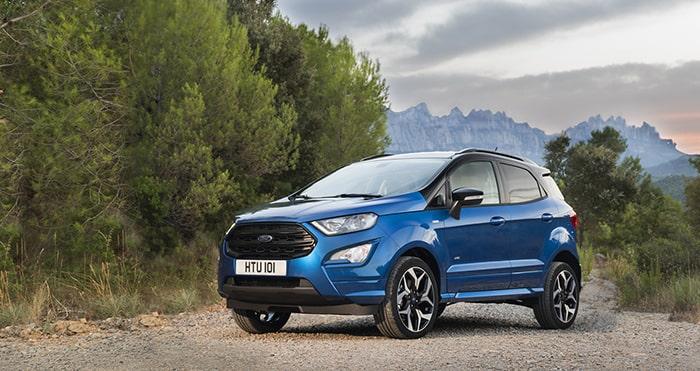 Ford Ecosport được nâng cấp và cải tiến trong phiên bản 2019