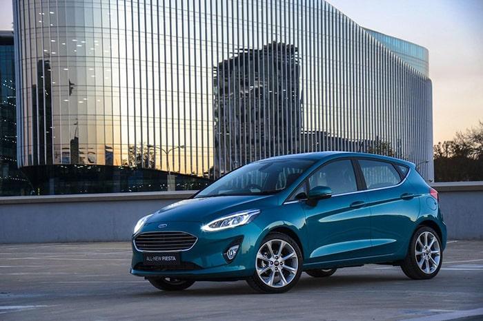 Thiết kế ngoại thất mạnh mẽ của Ford Fiesta