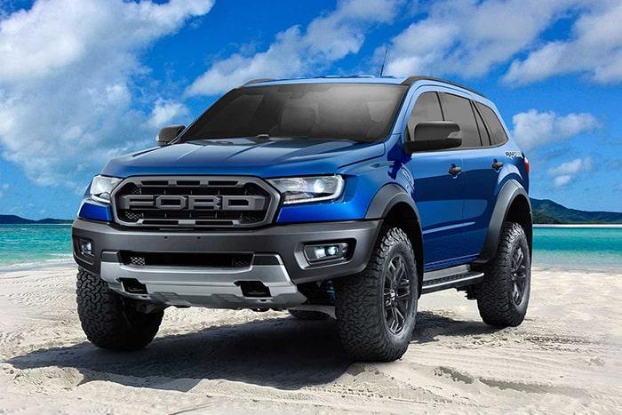 Phiên bản Ford Everest 2019 mới được nâng cấp và ra mắt vào tháng 7 năm 2018