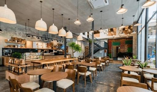 Cửa hàng cà phê, quán ăn