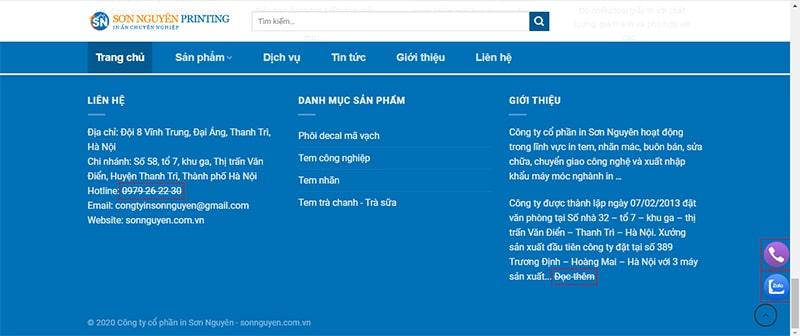 Địa chỉ in tem nhãn decal uy tín tại huyện Sóc Sơn - Hà Nội 1