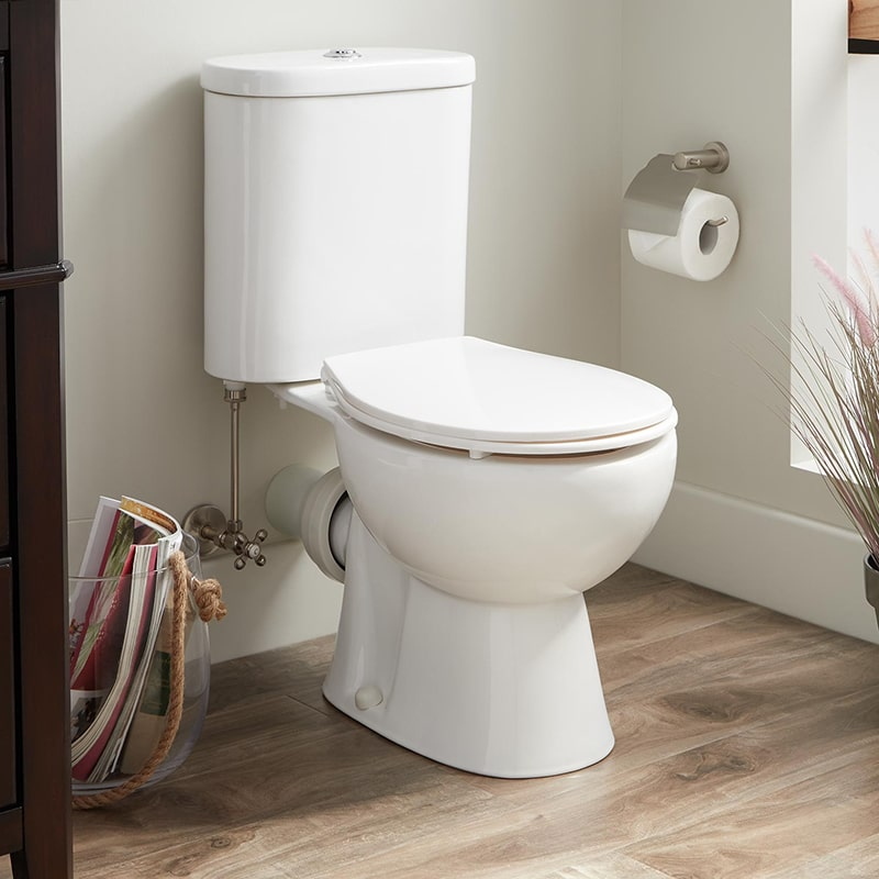 Để tiết kiệm nước trong phòng vệ sinh nên sử dụng bồn cầu kép loại 3/4,5 lít nước