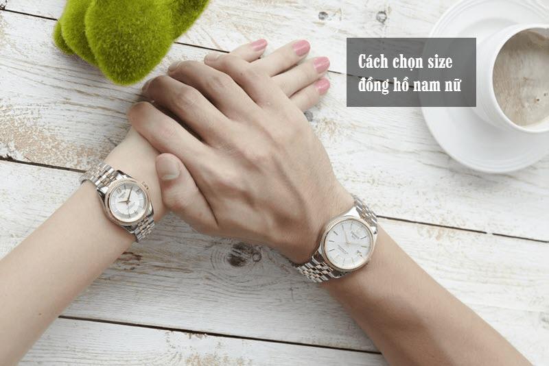 Kích thước dây đeo, mặt đồng hồ có ảnh hưởng lớn tới vẻ thẩm mỹ