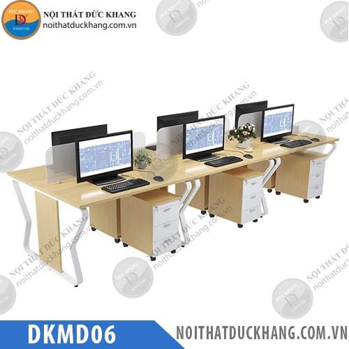 Cụm bàn làm việc 6 người DKMD06
