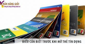 7 điều quan trọng cần biết trước khi quyết định mở thẻ tín dụng